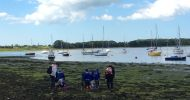 Reception Class visit Chichester Harbour Conservancy!